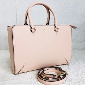 🌸OFFERS?🌸Tory Burch Leather Cream Satchel